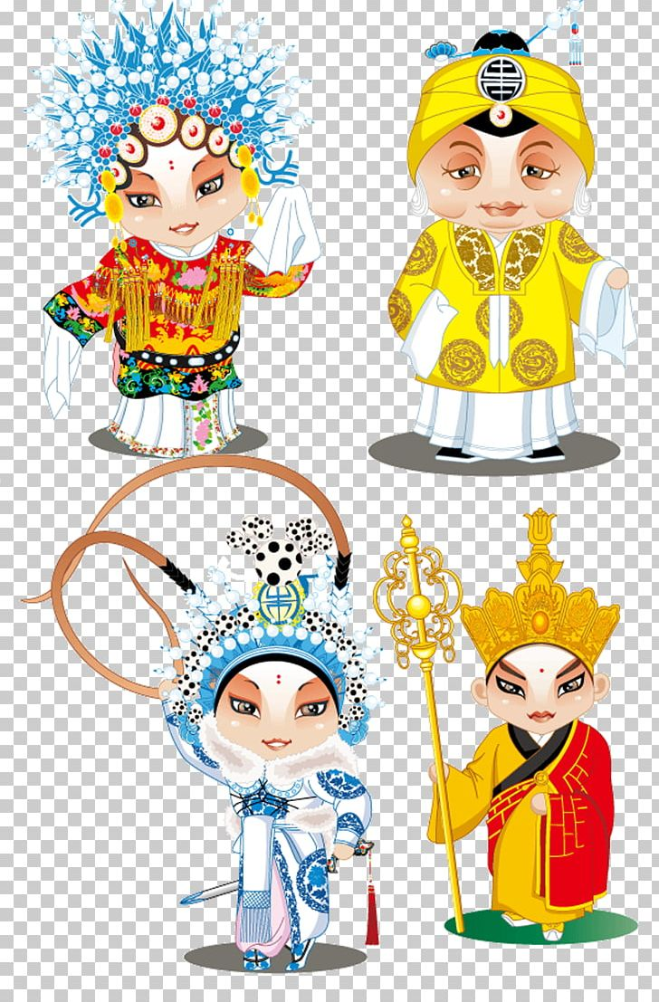 Peking Opera Cartoon Shaoxing Opera Illustration Png Clipart Actor Actress Actress Animation Art Beijing Opera Free