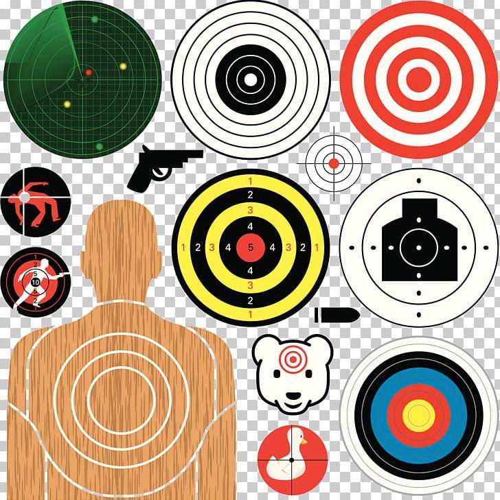 Shooting Target Target Corporation Illustration PNG, Clipart, Arrow Target, Black Pistol, Circle, Dart, Detection Free PNG Download