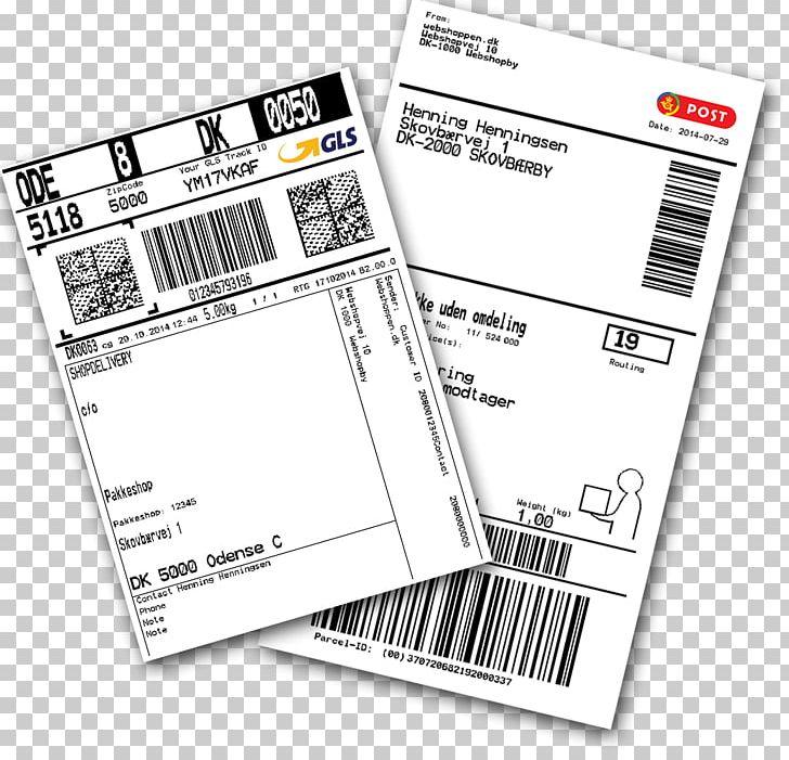 post danmark pakke labels