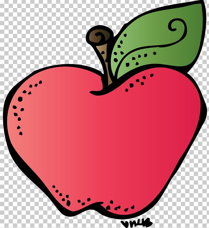 Back to school apple. Teacher blog png clipart