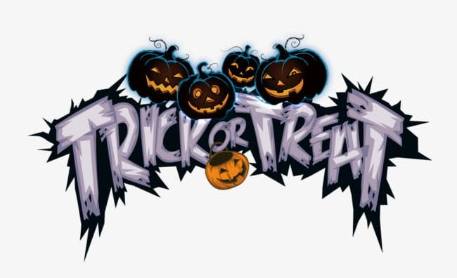 Halloween Trick Or Treat Clipart.Halloween Trick Or Treat Not Png Clipart Elements Fonts Halloween Halloween Clipart Halloween Clipart Free Png