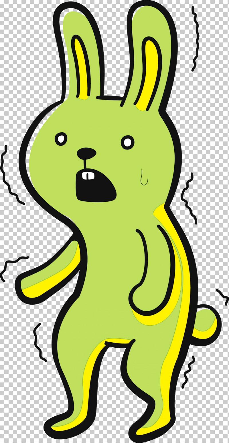 Cartoon Yellow Animal Figurine Rabbit Meter PNG, Clipart, Animal Figurine, Biology, Cartoon, Cartoon Rabbit, Cute Rabbit Free PNG Download