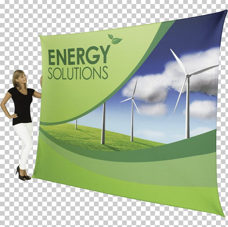 Banner Textile Stretch Fabric Display Stand Sales PNG