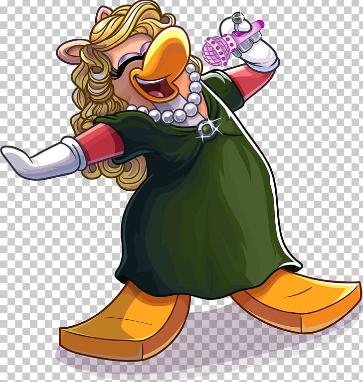 Club Penguin Miss Piggy Kermit The Frog Walter PNG, Clipart