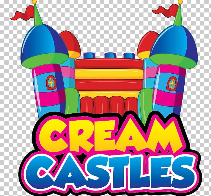 Inflatable Bouncers Cream Castles PNG, Clipart, Area