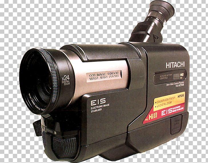 Video Cameras Hitachi Hi8 Camcorder PNG, Clipart, 8 Mm Film