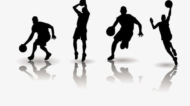 Basketball Players Silhouette PNG, Clipart, Athlete, Basketball, Basketball Clipart, Basketball Clipart, Image Clipart Free PNG Download