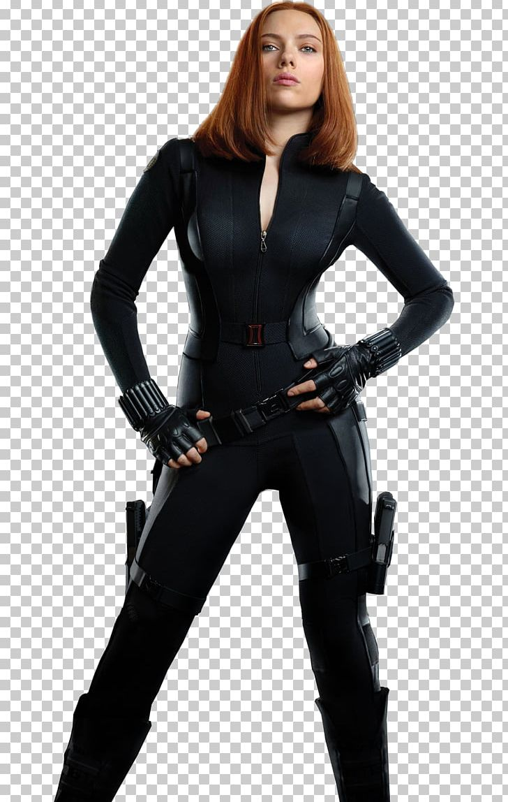 The Winter Soldier Black Widow Child`s Costume Wig Marvel Captain America