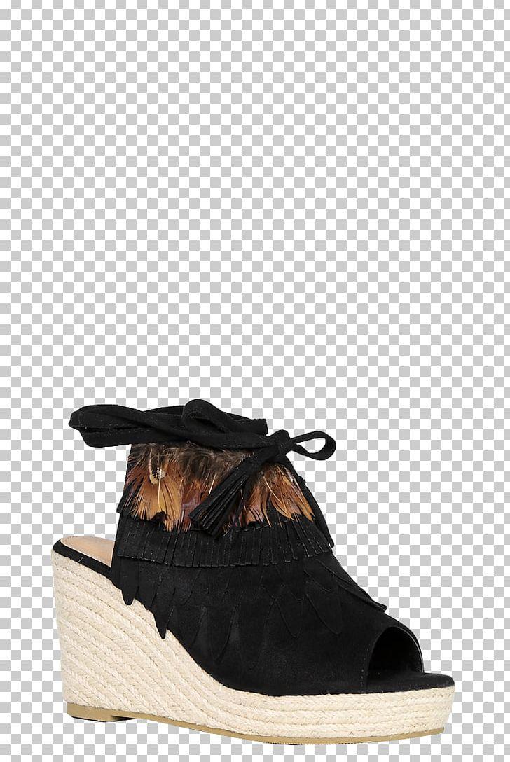 7e3bcb7c70a Wedge Sandal Peep-toe Shoe Suede Espadrille PNG, Clipart, Black ...