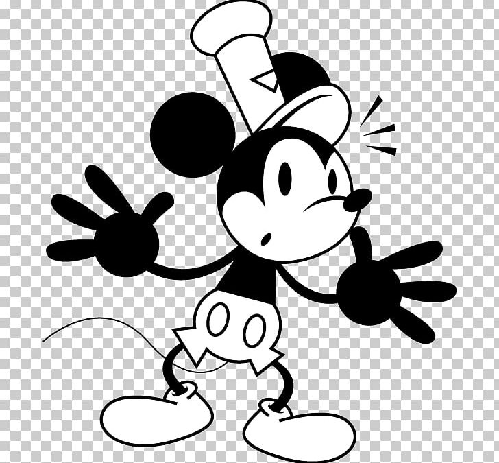 Mickey Mouse Black And White Png Clipart Animated Art Artwork