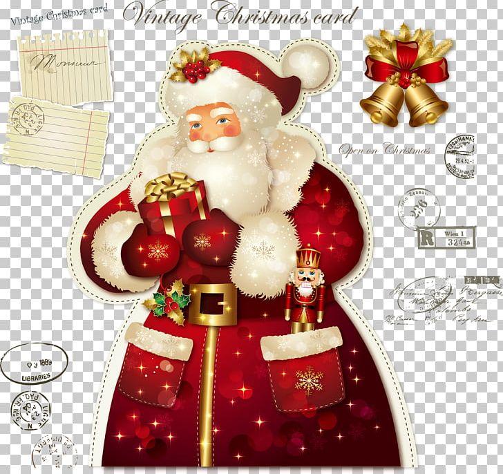 Santa Claus Wedding Invitation Christmas Card Greeting Card PNG, Clipart, Christmas Card, Christmas Decoration, Encapsulated Postscript, Fictional Character, Greeting Free PNG Download