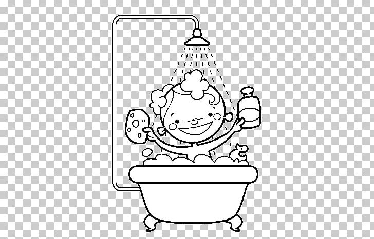 Shower Coloring Book Bathroom Png Clipart Anarki Angle Area Art Baby Shower Free Png Download