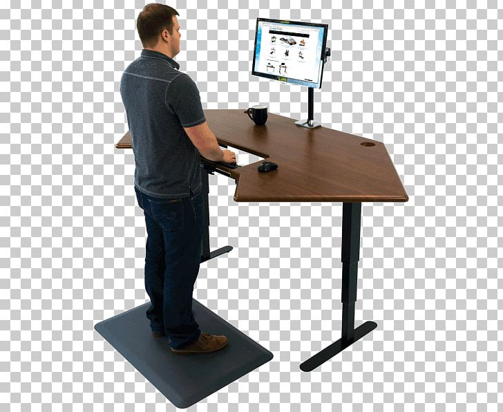 Standing Desk Office Table PNG, Clipart, Angle, Balance, Cubicle, Desk, Desktop Computers Free PNG Download