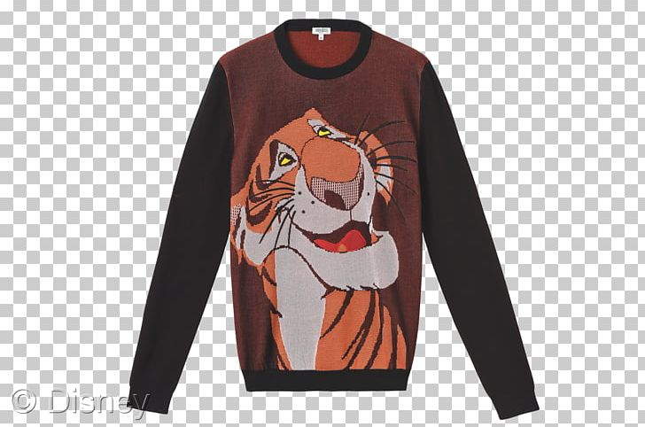 The Jungle Book Shere Khan T-shirt Sweater Kenzo PNG, Clipart, Bluza, Brand, Cartoon, Clothing, Fashion Free PNG Download