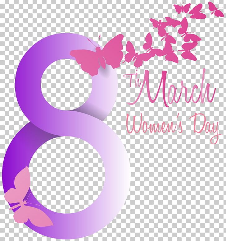 International Women's Day March 8 PNG, Clipart, 8 March, Brand, Butterflie, Circle, Clip Art Free PNG Download