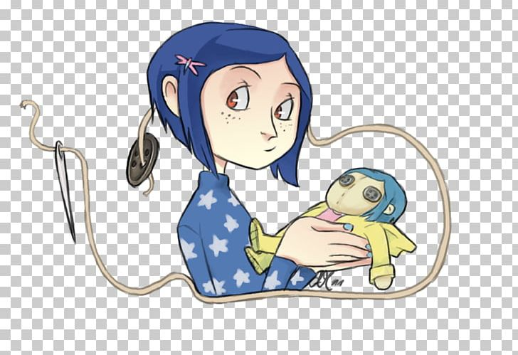 Coraline Jones Wybie Lovat Fan Art Png Clipart Anime Art Cartoon Child Circus Free Png Download