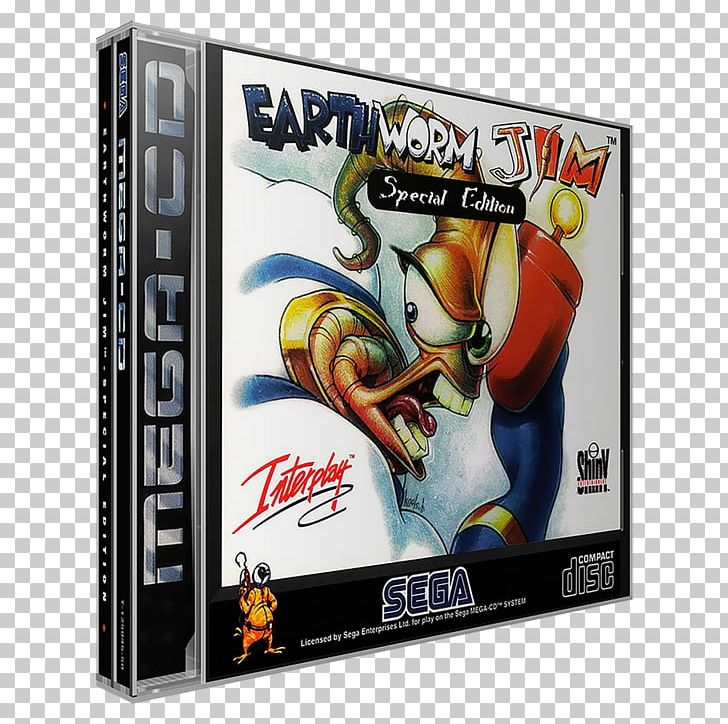Earthworm Jim Special Edition Grove Cleaners Sega CD Video