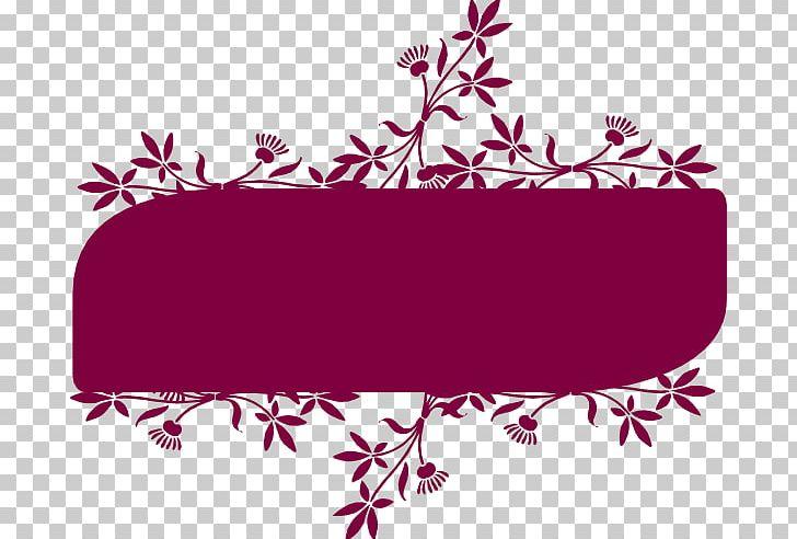 Floral Design Flower Banner PNG, Clipart, Area, Banner, Branch, Clip, Clip Art Free PNG Download