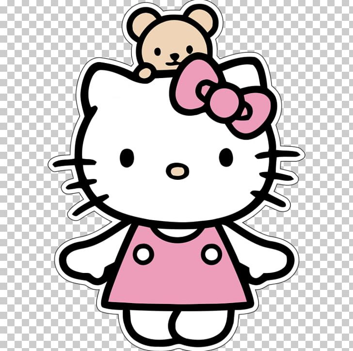 Hello Kitty Png Clipart Area Art Cartoon Clip Art Computer Icons Free Png Download