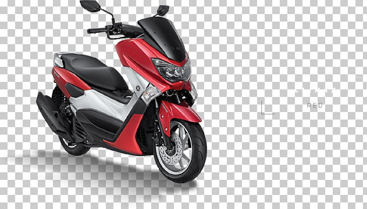 Scooter Yamaha NMAX Motorcycle Car Red PNG, Clipart