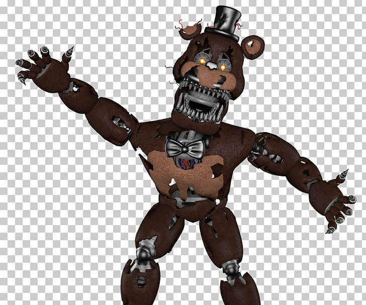 Five Nights At Freddy's 4 Nightmare FNaF World Game PNG
