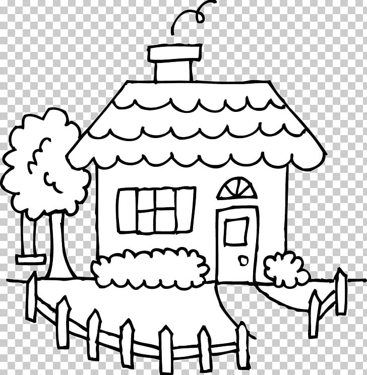 House Drawing Black And White Clipart Area Art White Artwork