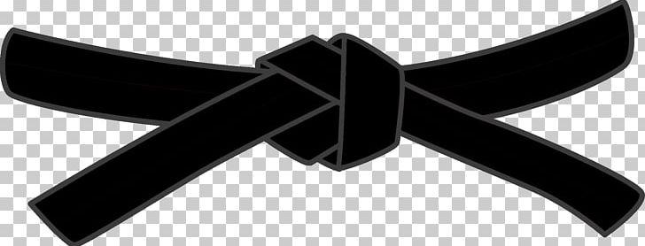 Black Belt Karate Dan Martial Arts Taekwondo PNG, Clipart, Angle, Belt, Black, Black And White, Black Belt Free PNG Download