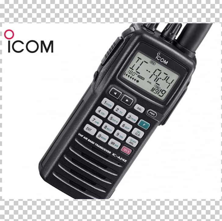 Icom Incorporated Two-way Radio Walkie-talkie Very High Frequency PNG, Clipart, Airband, Baofeng Uv82, Electronic Device, Electronics, Frequency Modulation Free PNG Download