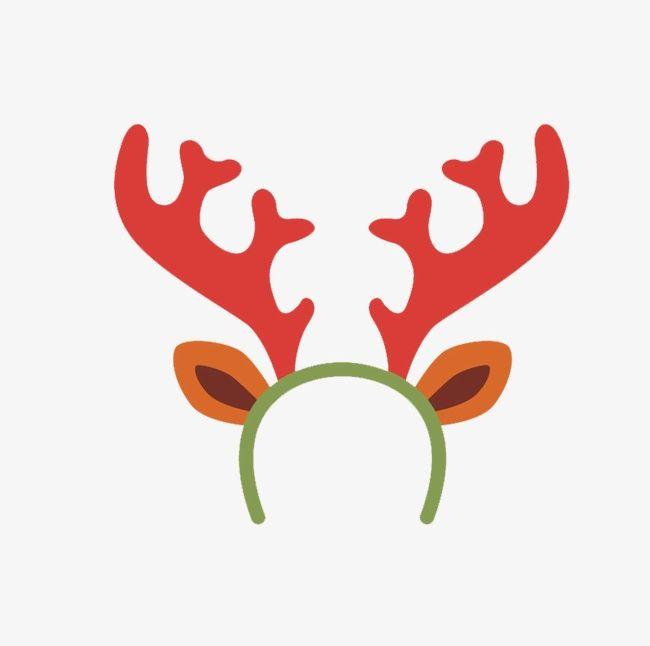 Christmas Headband Png.Cartoon Reindeer Headband Png Clipart Cartoon Clipart