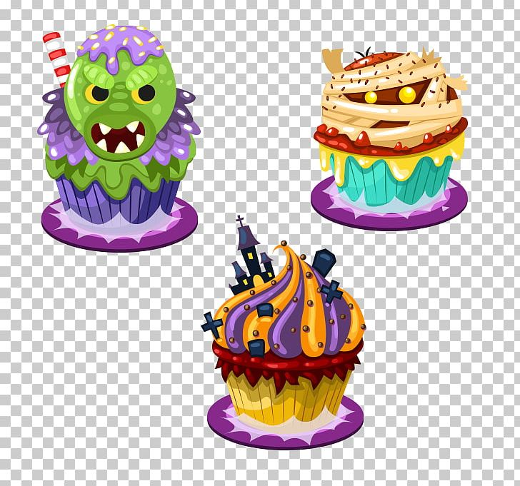 Cupcake Halloween PNG, Clipart, Animation, Birthday Cake, Cake, Cake Decorating, Cakes Free PNG Download