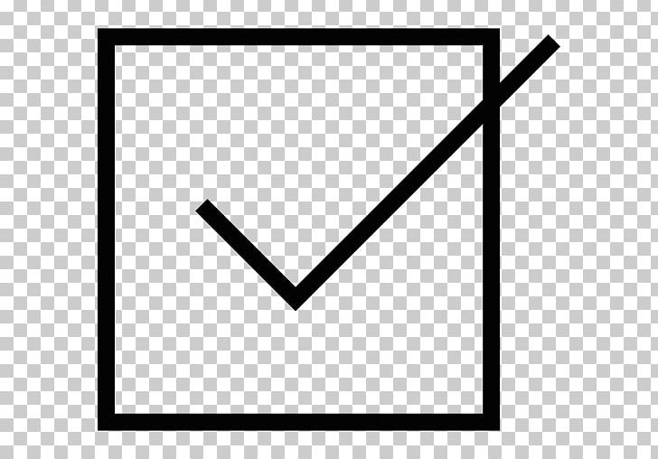 Check Mark Checkbox Computer Icons PNG, Clipart, Angle, Area, Black, Black And White, Brand Free PNG Download