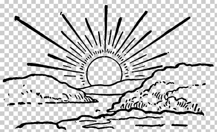 Sunrise Sunset Png Clipart Area Black Black And White Blog Brand Free Png Download