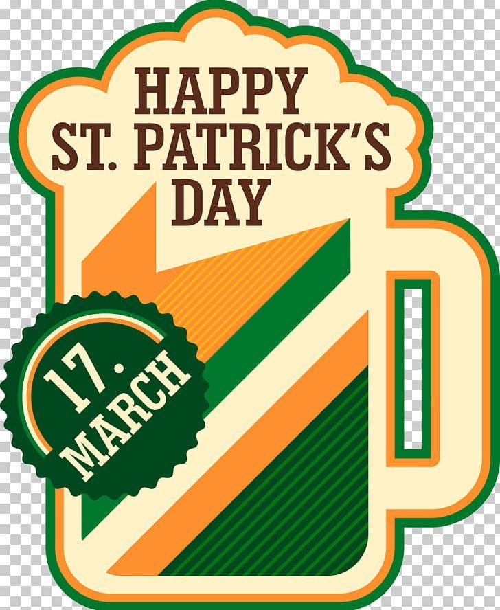 Saint Patricks Day Clover Vecteur PNG, Clipart, Area, Beer, Beer Glass, Beer Vector, Brand Free PNG Download