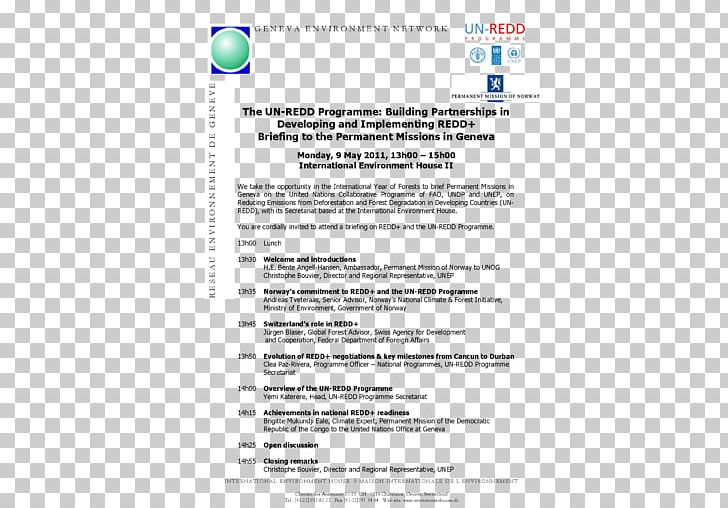 Wedding Invitation Paper Document United Nations REDD ...