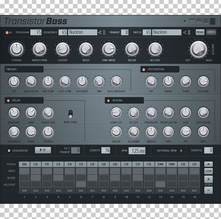 Virtual Studio Technology FL Studio Roland TB-303 Sound Synthesizers