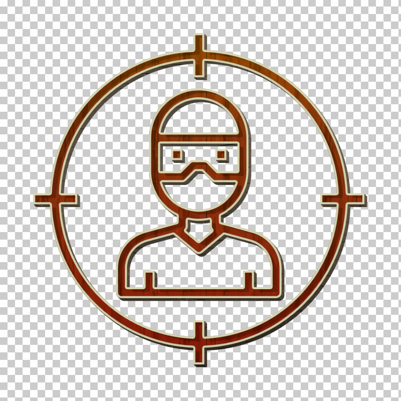 Target Icon Crime Icon Thief Icon PNG, Clipart, Circle, Crime Icon, Line, Metal, Symbol Free PNG Download