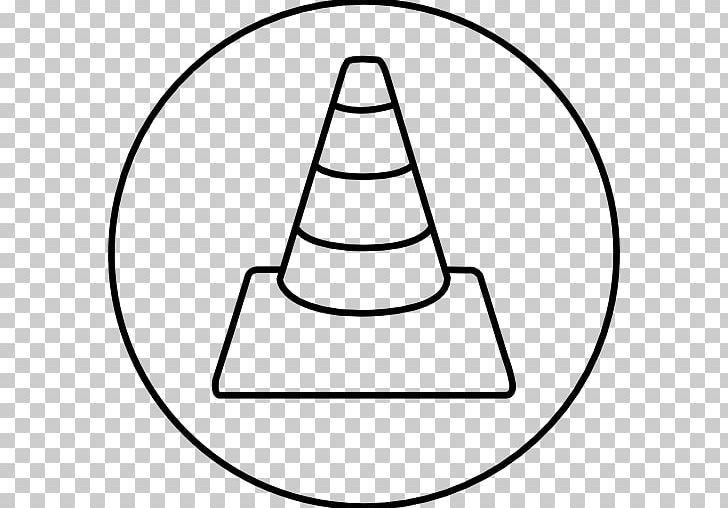 Computer Icons Cone Road PNG, Clipart, Angle, Area, Black And White, Circle, Computer Icons Free PNG Download