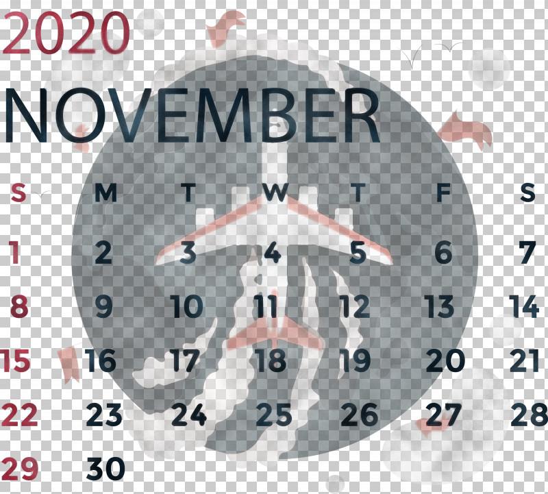 November 2020 Calendar November 2020 Printable Calendar PNG, Clipart, Analytic Trigonometry And Conic Sections, Calendar System, Circle, Clock, Mathematics Free PNG Download