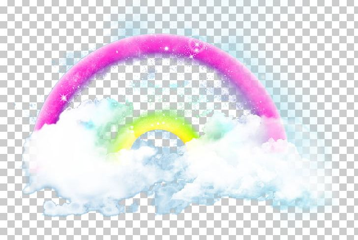 Sky Cloud Rainbow Cartoon PNG, Clipart, Atmosphere Of Earth