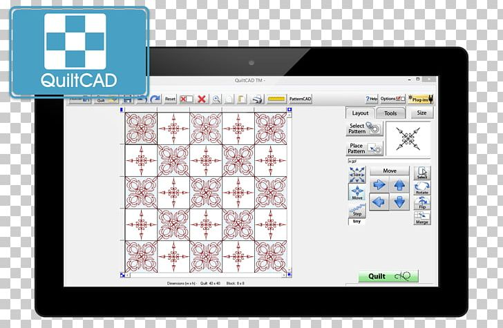 Quilting Sewing Textile Pattern Png Clipart Computeraided Design Computer Icons Computer Software Electronics Front And Back