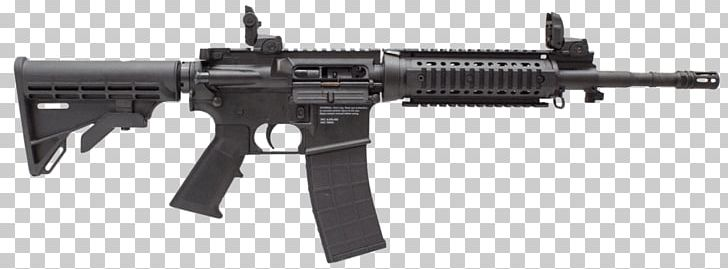 AR-15 Style Rifle Firearm M4 Carbine Bushmaster XM-15 PNG