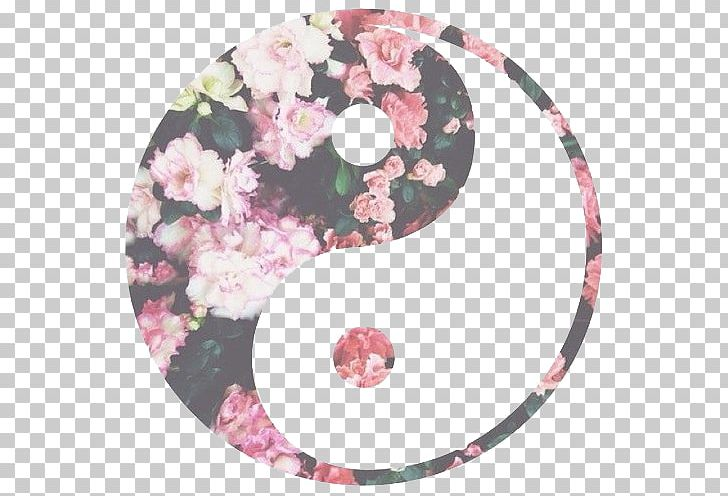 Yin And Yang Flower Symbol Desktop PNG, Clipart, Art, Circle, Desktop Wallpaper, Dota, Drawing Free PNG Download