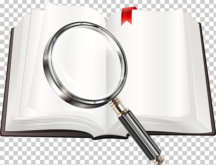 Magnifying glass book. Png clipart clip art