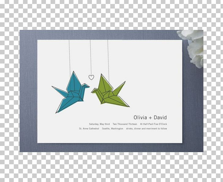 Wedding Invitation Paper Crane Origami Orizuru Png Clipart Art