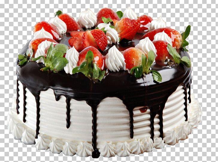 Birthday Cake Wedding Cake Chocolate Cake Strawberry Cream Cake Black Forest Gateau Png Clipart Birthday Cake