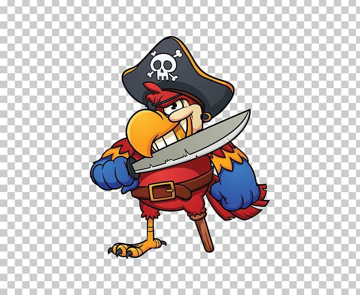 Pirate Parrot Cartoon Piracy PNG, Clipart, Add, Animals, Art, Beak, Bird Free PNG Download