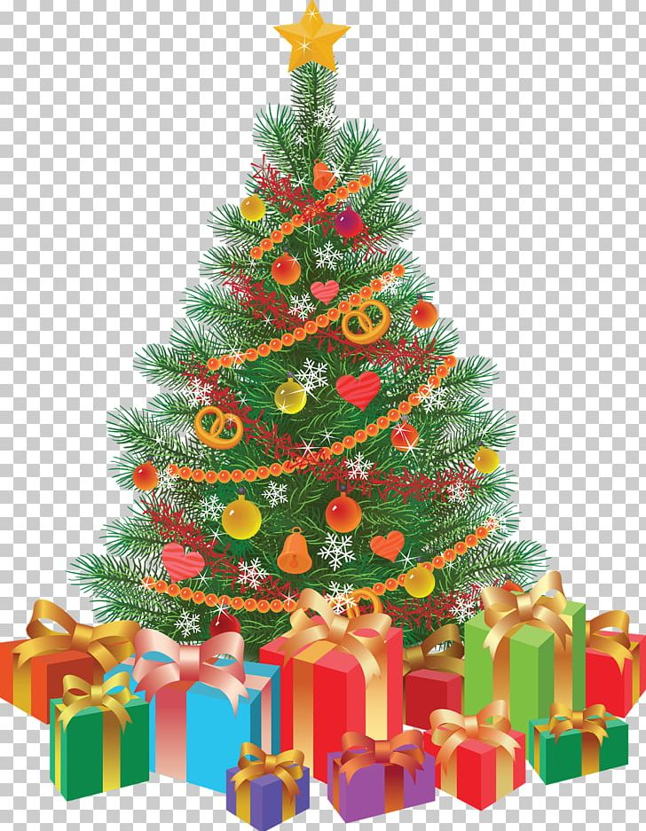 Christmas Tree Drawing Gift Png Clipart Allergy Can Stock