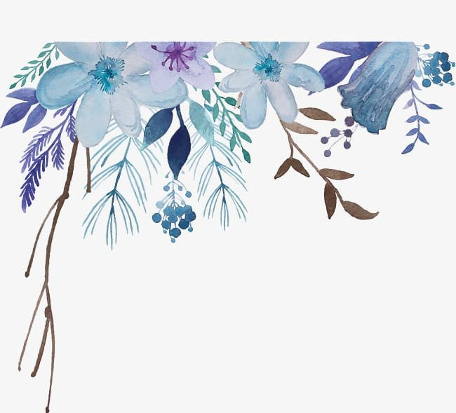 Watercolor Flowers PNG, Clipart, Abstract, Backgrounds, Beauty In Nature, Botany, Branch Free PNG Download