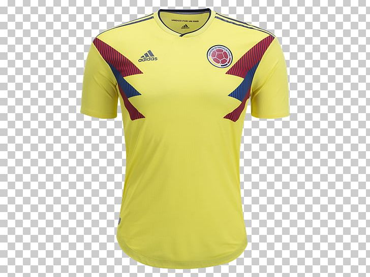 674eb59536a 2018 FIFA World Cup Colombia National Football Team 2014 FIFA World Cup  T-shirt Colombia National Under-20 Football Team PNG