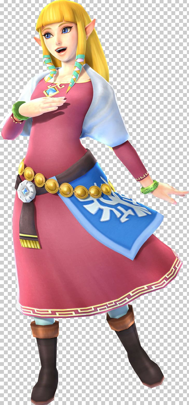 The Legend Of Zelda: Skyward Sword The Legend Of Zelda: Twilight Princess HD Princess Zelda Hyrule Warriors Link PNG, Clipart, Clothing, Costume, Doll, Fictional Character, Fig Free PNG Download
